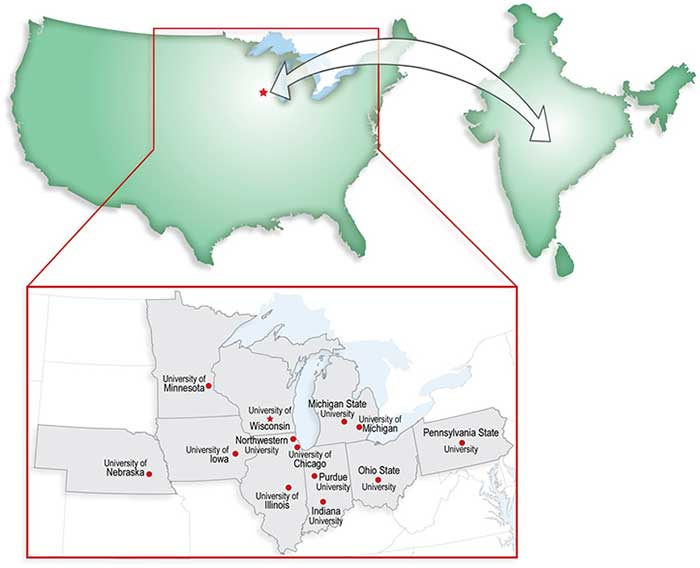 Image of participating U.S. locations