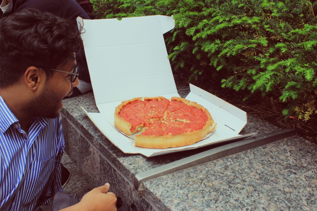 Bhargav Sanketi Deep Dish Pizza at Chicago.jpg
